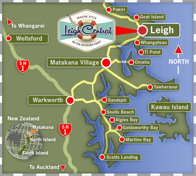 Map & Directions to find us | Leigh Central - Seaside Style on the ...